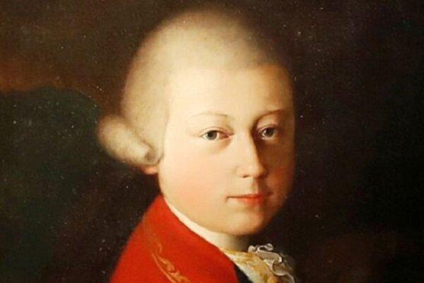 4 میلیون دلار قیمت پرتره جوانی موتسارت در پاریس
