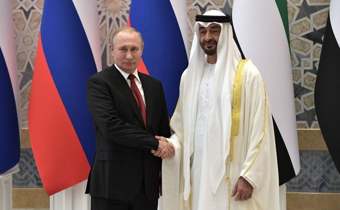 گفت وگوی پوتین با ولیعهد امارات درباره واکسن کرونای روسی