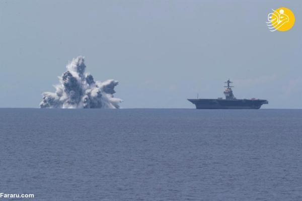 (ویدئو) آزمایش مهیب نیروی دریایی آمریکا به اسم زلزله ثبت شد!
